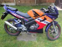 Honda cbr 125cc repsol Honda 125cc