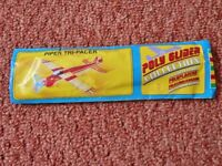 Childrens Party Bag Filler Piper Tri-Pacer Toy Poly Glider / Aeroplane
