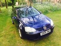 2006 Volkswagen Golf in stunning Blue.... HPI CLEAR