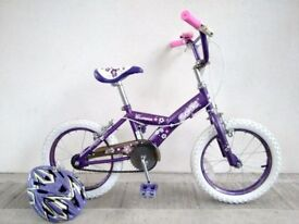 "SALE!!! (2163) 16"" SONIC GLAMOUR GIRLS KIDS CHILD BIKE BICYCLE; Age: 5-7; Height: 105-120 cm"