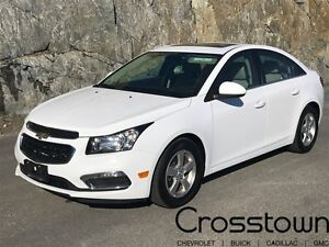 2016 Chevrolet Cruze 2LT/SUNROOF/HEATED LEATHER/BACKUP CAM/BLUET