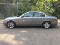2007 JAGUAR S-TYPE SE TD, AUTOMATIC, 6 SPEED DIESEL, TWIN TURBO, CREAM LEATHER,SAT NAV,DVD PLAYER