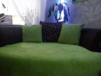 Oval relaxing sofa