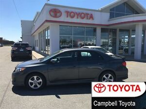 2012 Toyota Corolla S ONLY 36,000 KM'S REAR SPOILER MOON ROOF AU