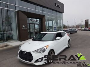 2013 Hyundai Veloster Turbo, cuir, mag, nav, toit ouvrant