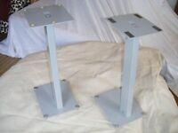 Set of 2 speaker stands