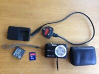 Digital camera with SD card & case