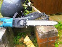 makitia 240 volt chain saw