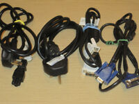 Computer cables for sale tons of them. ask what u need