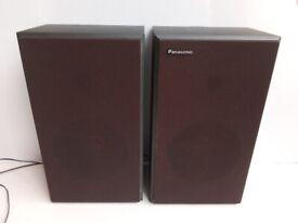Vintage 1970s Panasonic speakers