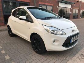 Ford Ka Zetec White Addition
