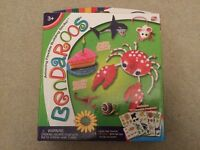 Bendaroos 500 pieces includes 10 traceable templates BNIB ... cake, shark snail Brand NEW