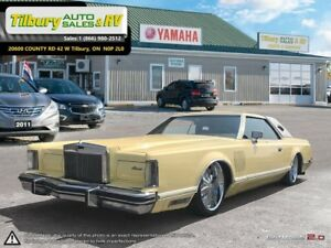 1977 Lincoln Continental MARK V 5 *Air Ride Suspension. Touch Sc