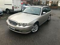 2002/52 ROVER 75 2.0 DIESEL connoisseur AUTOMATIC ESTATE LEATHERS