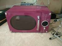 Daewoo microwave purple