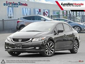 2014 Honda Civic Touring *NEW ARRIVAL* One owner vehicle, Ful...