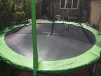 10FT TRAMPOLINE WITH SAFETY NET FOR SALE