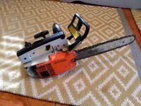 STIHL 020 AV SUPER top handle chainsaw. Arborist, tree surgeon