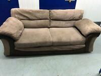 2 x matching sofas with FREE DELIVERY