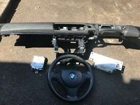 06 BMW 1 SERIES FULL AIBAG KIT