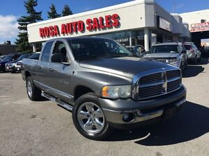 2005 Dodge Ram 1500 4X4 5.7 L HEMI  ENGINE CREW CAP PL PW PM E T