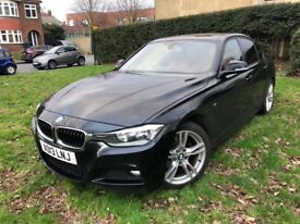 BMW 320D AUTO M SPORT DIESEL SATNAV LEATHER 2013