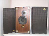 A PAIR OF CASTLE RICHMOND HI FI AUDIO SPEAKERS