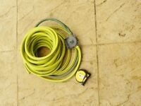 Drill operated pump & 6m of hose