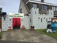 Children's gala day castle arch for sale