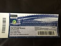 Stone roses Friday 17th June face value standing