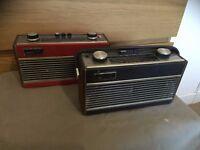 2 x roberts radios old but work fine