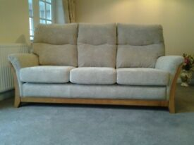 Sofa 3 seater 6 months old, as new, very little used