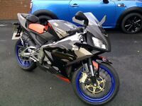 Aprilia Rs 125 FULL POWER very low millage ! 1 OWNER from new