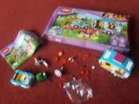 Lego friends 41034 car and caravan