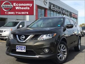 2015 Nissan Rogue SL One Owner