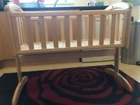 Troll Nicole Crib, Cot Bed & Change Table
