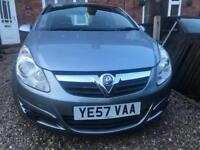 2007 VAUXHALL CORSA 1.0 - 12 months mot with low miles