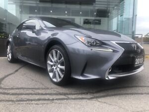 2015 Lexus RC 350 Premium PKG Navi Backup CAM Moonroof