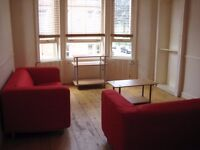 Bright, furnished one-bed flat in Glasgow West End, Partick / Thornwood