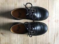 BLACK DOC MARTENS UK 3