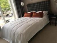 Brand new queen bed from show flat
