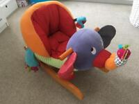 Mamas & Papas Elephant Rocker Baby Toddler Toy