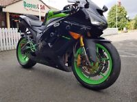 Kawasaki zx6r 636 2006 c6f with lots of extras