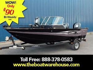 2016 lowe boats FM165 Pro WT Mercury 60HP Trailer Trolling Moto.