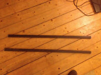 £20 Thule 760 roof square roof bars