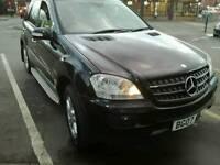 2007 07 REG Mercedes Benz M Class 3.0 ML320 CDI SE Diesel 7G-Tronic Auto HPI Clear Full MOT