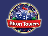 Alton Towers x4 for 19 Aug 2016 19/08/2016 School holiday