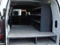 Bott Metal Shelving +Floor/ Storage For Peugeot Partner van