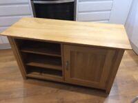 Oak sideboard tv cabinet