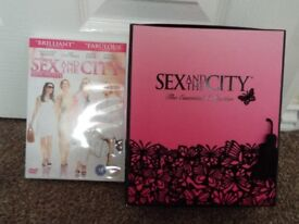 Sex and the City The Essential Collection and Sex and the City The Movie